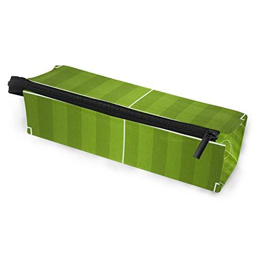 Sonnenbrillen Soft Protector Box Rhombus Federmäppchen Tasche Fußball Rasen Sod Multifunktionstasche mit Reißverschluss für Studenten, Kinder, Jugendliche, Mädchen, Frauen, Männer, Jungen -