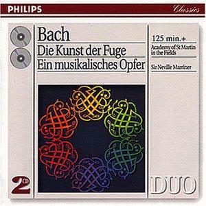 Duo - Bach: Die Kunst der Fuge - Ein musikalisches Opfer Duo Teile