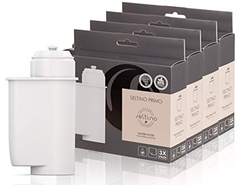 12x Filterpatrone Seltino PRIMO - Ersatzfilter für Brita Intenza 467873 TZ70003, für Espressovollautomaten Bosch, Neff, Siemens, Gaggenau. (4x 3er Pack!)