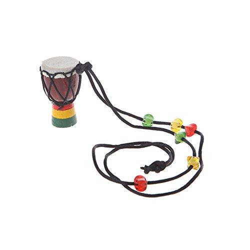 YOFO Classic Jambe Drummer Mini Djembe Percussion African Hand Drum Bongo Geschenk, 2, Einheitsgröße