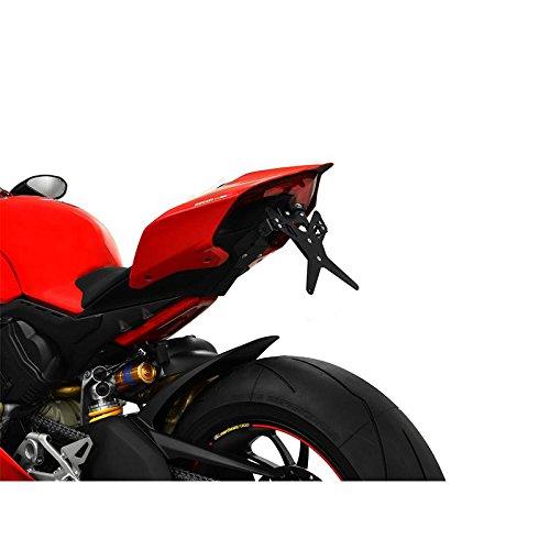 Preisvergleich Produktbild Ducati Panigale V4 BJ 2018 Kennzeichenhalter Kennzeichenträger Nummernschild Halter / Halteplatte (inkl. Kennzeichenbeleuchtung und Rückstrahler) – Protech