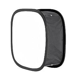Neewer Softbox Faltbarer Diffusor für Lichtpanel 660 LED - Außen 41 x 17,5 cm Innen 14,2 x 17,2 cm mit Befestigungsband & Transporttasche für Fotografie