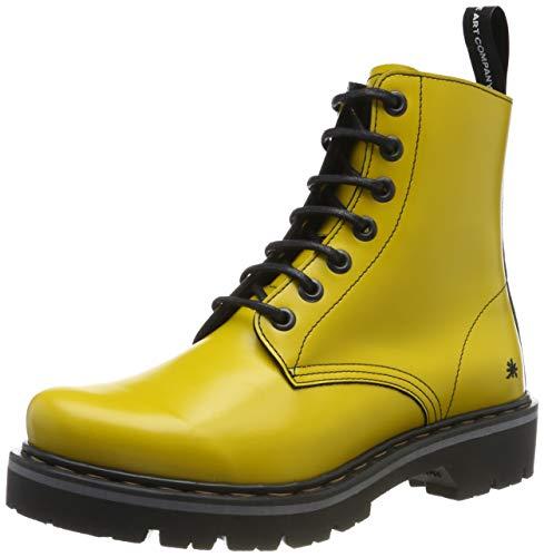 Art Marina, Botas Slouch Unisex Adulto, Amarillo Yellow Yellow, 37 EU