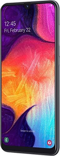 Samsung Galaxy A50 Smartphone (16,3 cm (6.4 pollici) 128 GB memoria interna, 4 GB RAM, Black) – A505F