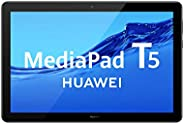 "HUAWEI MediaPad T5 - Tablet de 10.1"" FullHD (Wifi, RAM de 3GB, ROM de 32GB, Android 8.0, EMUI 8.0), Color"
