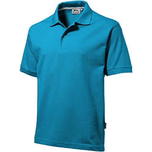 Slazenger - Polo - - Col boutonné Homme Bleu Blue - Aqua