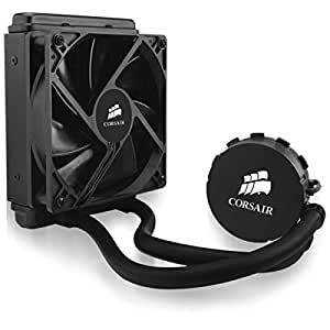 Corsair Hydro H55 All-in-One Liquid CPU Cooler Sistema di Raffreddamento a Liquido, Radiatore da 120 mm, Nero