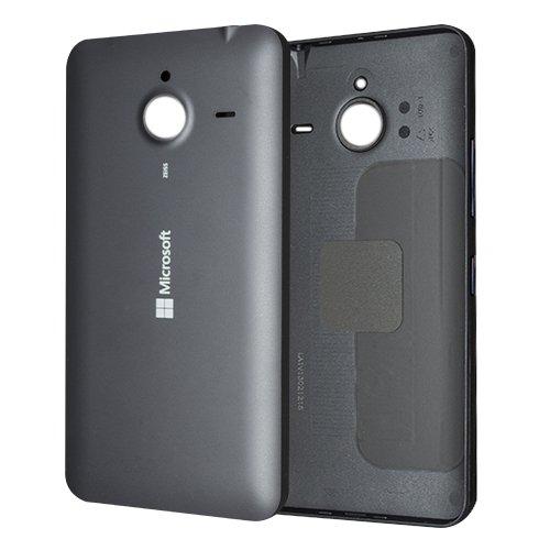 Microsoft Lumia 640 XL Dual Sim Akkufachdeckel Original Black - Back cover assembly MASTER Black (Assembly Lcd-back Cover)