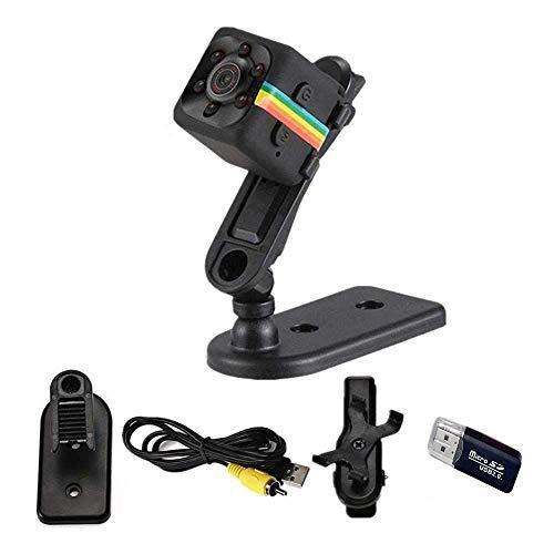LemoCam SQ11 Mini Videocamera HD 1080P Sport DV Videoregistratore Spia  Telecamere con Visione Notturna e rilevamento del Movimento Dashcam più