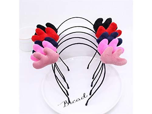 (Weihnachtsgeschenke Nette Geweih Haarband Stirnband Weihnachtsfeier Kostüm Zubehör für Kind (Random))
