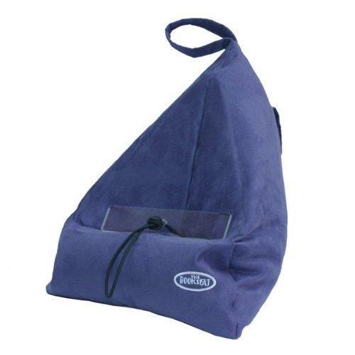 Bookseat - Atril para libro, diseño en forma de saco, color azul