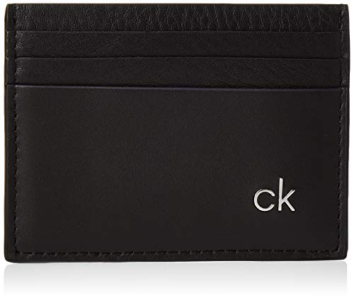 Calvin Klein Herren Ck Direct Cardholder Schultertasche, Schwarz (Black), 1.2x11x7.8cm