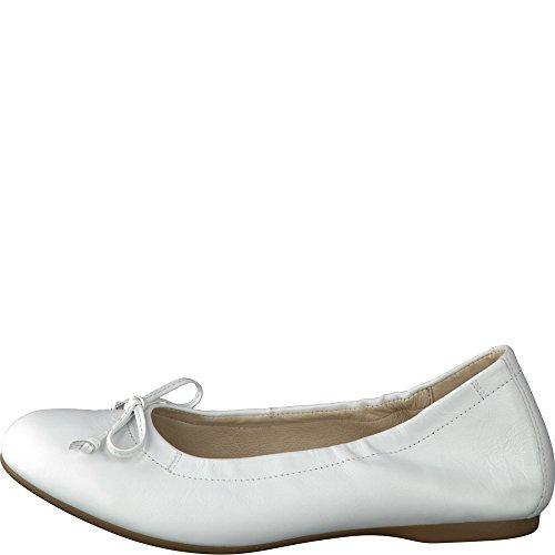 Gabor Gabor Damen Ballerinas Weiss 84120-21 weiß 399908