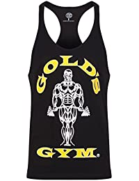Golds Gym Herren Top Muscle Joe Premium Stringer Vest