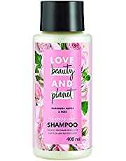 Love Beauty & Planet Murumuru Butter and Rose Aroma Blooming Colour Shampoo, 400 ml