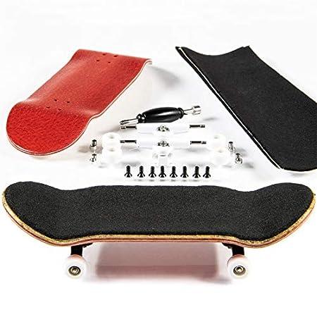PhoneNatic Finger Skateboard kit – gelb braun (Design 3)