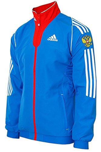 6fee3c57f3a7 Herren Präsentations Jacket Team Russia Olympia Russland Teamjacke Blau -  Rot. adidas Russia Präsentations Jacke ...
