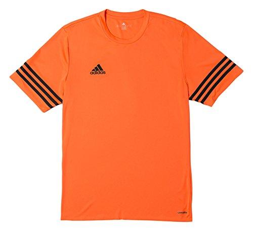 adidas Entrada 14 JSY, Camiseta para Niños, Naranja (Warning/Black), 128