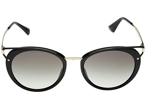 Prada Damen 0PR66TS 1AB0A7 54 Sonnenbrille, Schwarz (Black/Grey),
