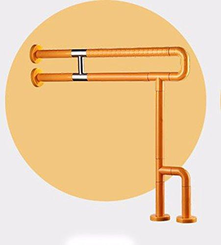QPSSP Closestool Armlehne, Wc, Wc, Schleudern Beweis Frame, Sicherheit, Alte, Behinderte, Barriere Hebevorrichtung, Toilette, Nylon Armlehne, Weiße,EIN