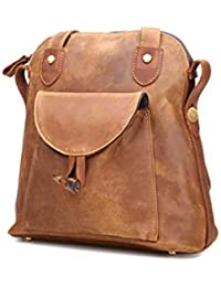 Backpack Anti Real For Artesanal Theft Women Mochila Vintage Cuero Leather De Haxibkena Hw0TqzA