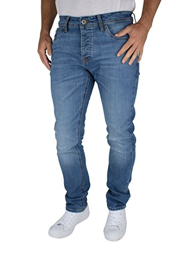 Jack & Jones Uomo Slim fit Tim originali 013 Jeans, Blu, 30W x 30L