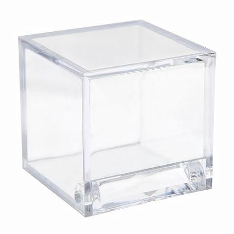 Cube Transparent - Boîte Cube - Sachet de 4 -