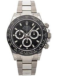 Rolex Cosmograph Daytona 116500LN quadrante bianco in acciaio inossidabile automatico uomo orologio