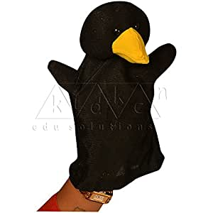 Hand Glove Puppets - Crow