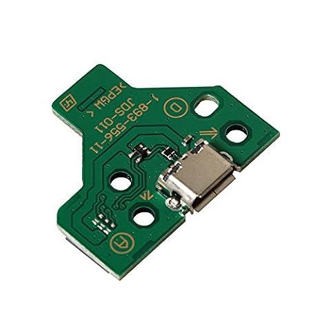 eJiasu 12 broches de port de chargement USB et prise triangulaire de chargeur de carte (Regolatore Connettore)