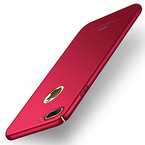 Yooky iphone 7 Plus Case Fall Hülle , iphone 7 Plus  Cover Tasche , Kratzfestes dünne harte Schutzabdeckung Shell für iphone 7 Plus Red