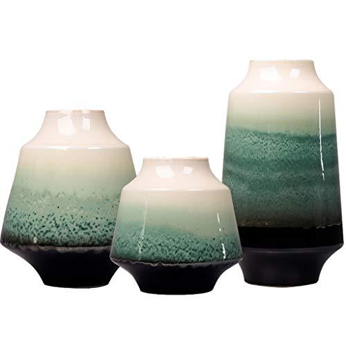 Vase Décoration Décoration Salon Meuble TV Arrangement De Fleurs Décoration Créative Zen (Color : Blanc, Size : 50 * 50 * 50cm)
