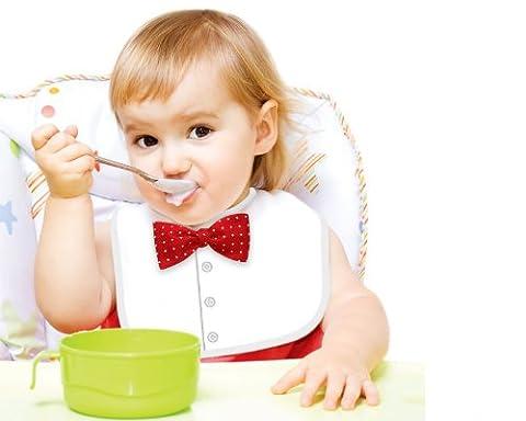 Gentleman Baby-Lätzchen - Fliege (Versand aus UK)