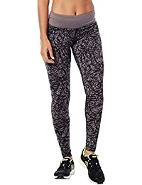Zumba Fitness Damen Scribble perfekt Leggings lang