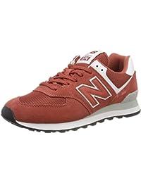 6d67f5952 Amazon.es: Naranja - Zapatillas / Zapatos para hombre: Zapatos y ...