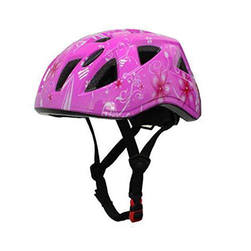 Mchooded Casco Bici Ideale per Bambini e Adolescenti Caschi Perfetto per Downhill Ciclismo Scooter Helmet Ideale per Tutte Le Forme di attività in Bicicletta