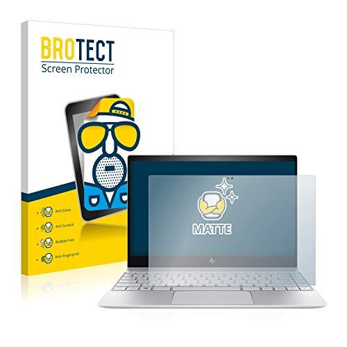 BROTECT Entspiegelungs-Schutzfolie kompatibel mit HP Envy 13-ad105ng (1 Stück) - Anti-Reflex, Matt