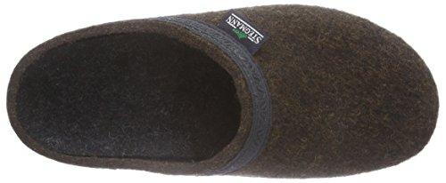 Stegmann 127 Unisex-Erwachsene Pantoffeln Braun (teak 8814)