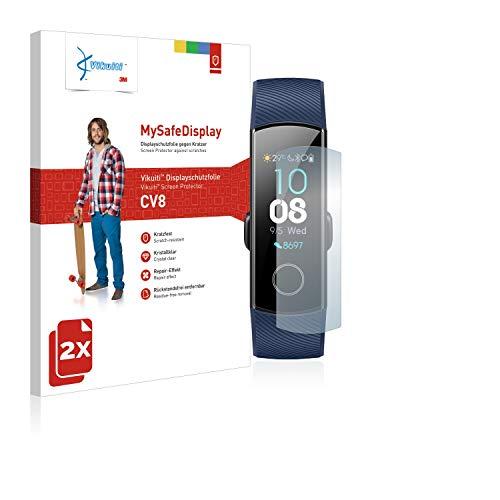 Vikuiti 2X Bildschirmschutzfolie CV8 von 3M kompatibel mit Huawei Honor Band 4 Schutzfolie Folie