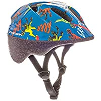 Raleigh Kids' Rascal Dinosaur Cycle Helmet, Multi-Colour, 44-50 cm