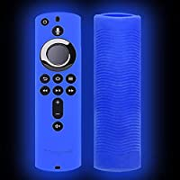 NAKELUCY Fire Tv Stick Case - Remote Control Luminous Anti-lost Silicone Case For Fire TV Stick 4K / Fire TV (3rd Generation) / Fire TV Cube attractive conventional