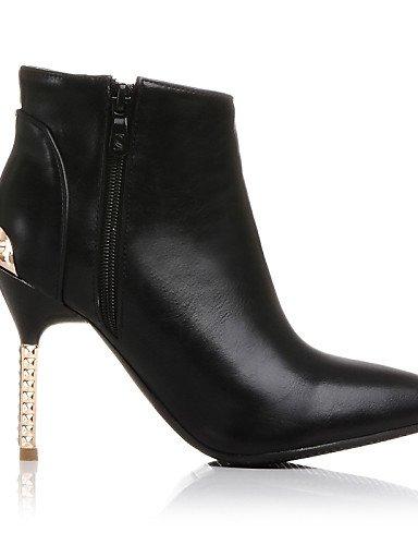ShangYi Mode Frauen Schuhe Damenschuhe Stilettabsatz Fashion Stiefel/Schuhe Stiefel Büro & Karriere/Kleid/Casual Schwarz/Burgund Schwarz