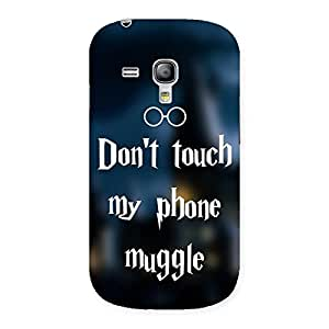 Cute Dont Touch Back Case Cover for Galaxy S3 Mini