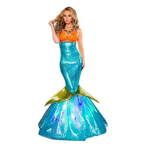 Fanstyle Cosplay Nachtclub Bar Ankleiden Meerjungfrau Rock Miss Mermaid ()