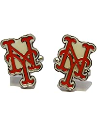 Men's MLB Cufflinks New York Mets Cuff Links