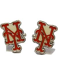 Men's MLB Cufflinks New York Mets Cuff Links