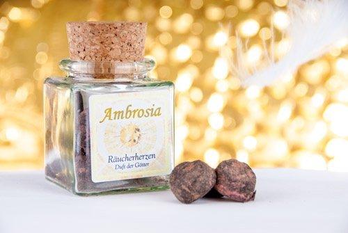 Berk Räucherkerzen - Ambrosia Herz, 500 g lose (Herz-lose)