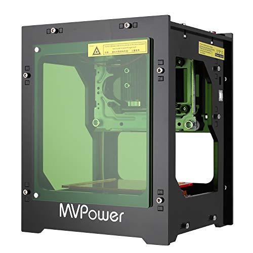 MVPOWER Laser Graviermaschine 1500mw Bluetooth Print Engraver Maschine für win xp / 7/8 /10 / ios 9.0 / Android 4.0