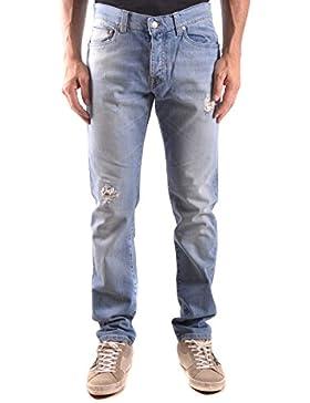 Daniele Alessandrini Hombre MCBI086590O Azul Claro Algodon Jeans
