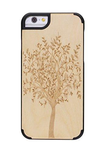 "SunSmart Apple iPhone 6 Plus Holz Hülle Klassische hölzerne Abdeckung iPhone 6 Natural Wood Schutzhülle für iPhone 6 Plus 5.5""-39 30"